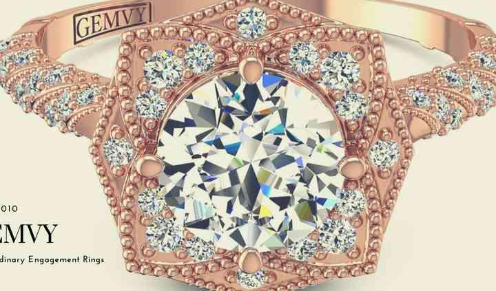 Flower inspired ring
