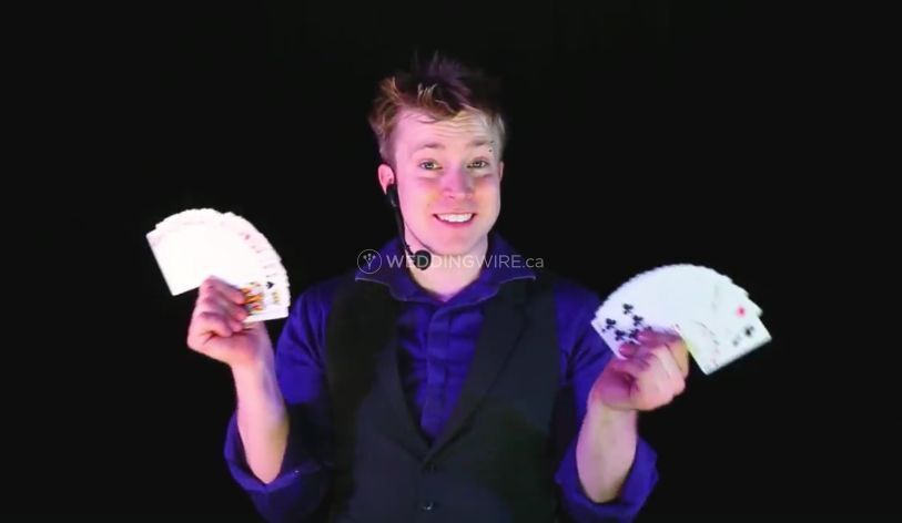 Calgary wedding entertainer