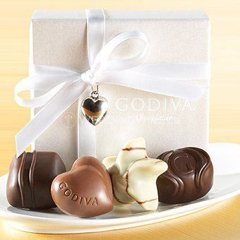 Godiva wedding favor