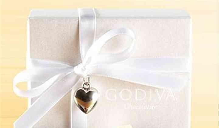 Godiva wedding favor