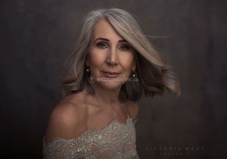 Portrait by Victoria West