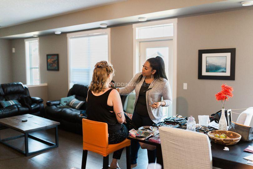 Bridal Make Up Calgary