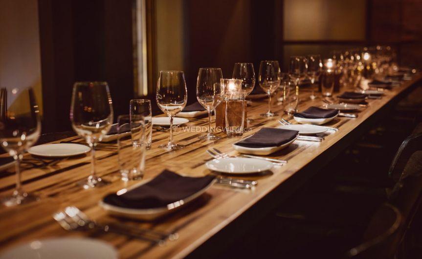Montreal wedding reception restaurant