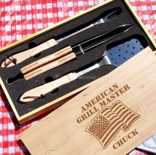Bbq utensil kit