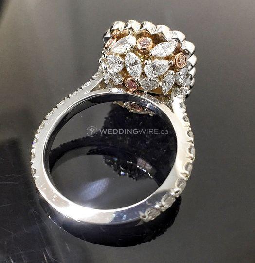 Custom Diamond Design