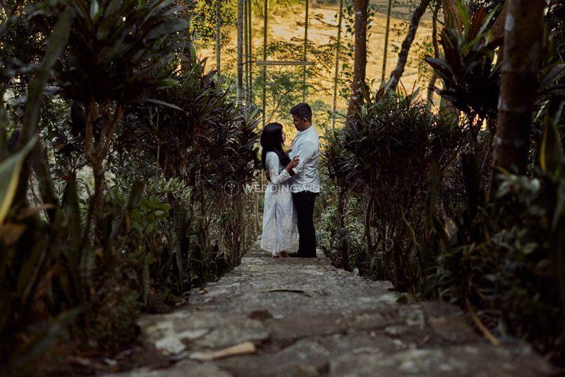 Tea Garden Wedding