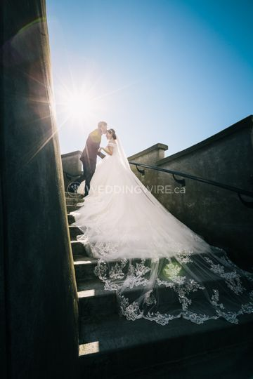Outdoor Pre-Wedding Photo