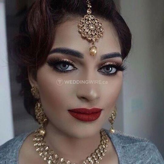 Ontario Wedding Makeup