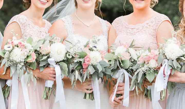 Bride and Bridesmaid Bouquet