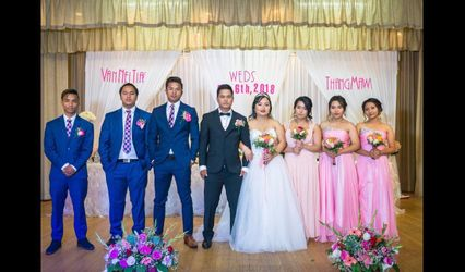 The wedding of Liuba and Munis
