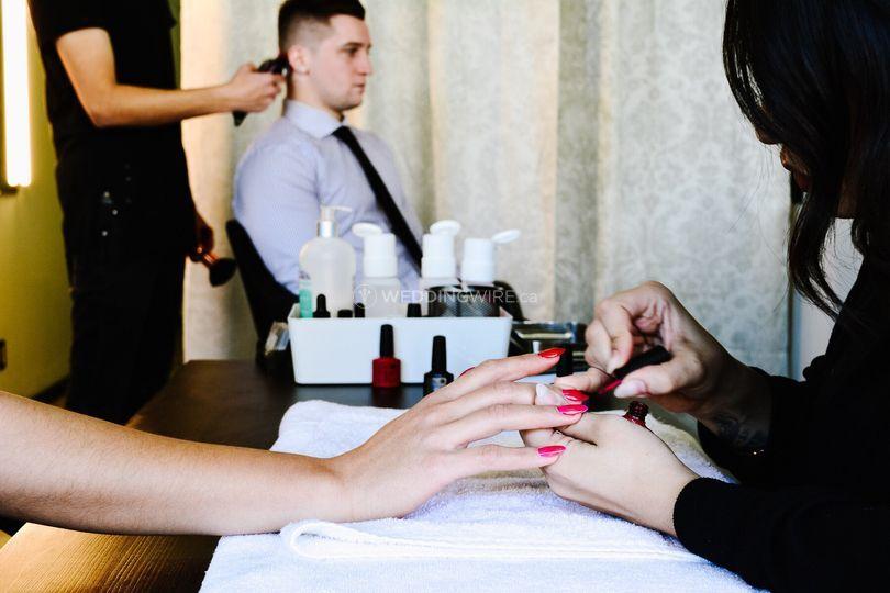 The WKND Hair Salon