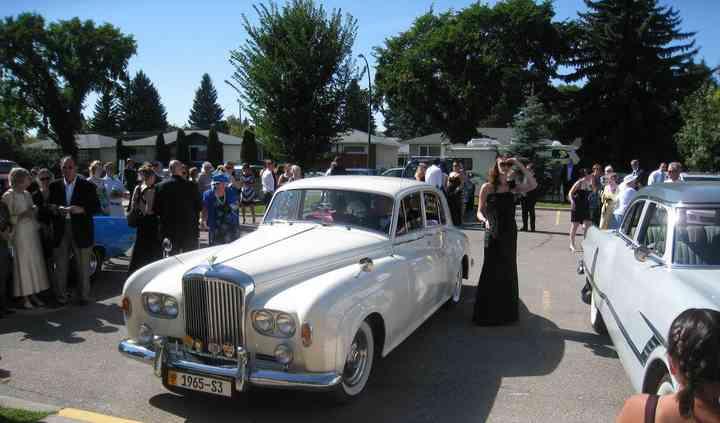 Calgary wedding limousine