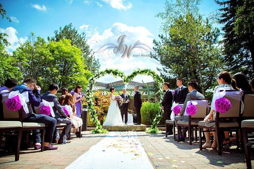 Zen Garden Wedding Ceremony
