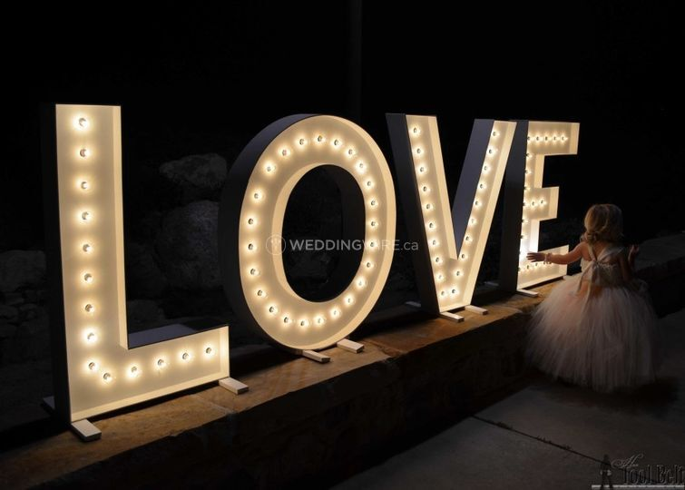 Love Marquee Letters 2