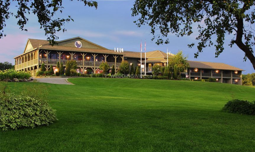 Main clubhouse