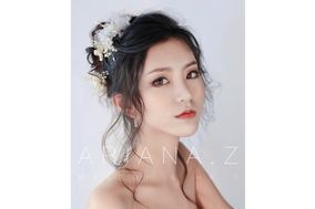 Ariana Z Bridal Makeup and Hair