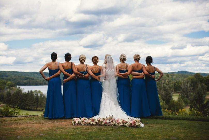 Bridal Party done by Alysse
