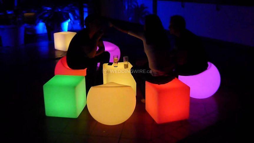 LED lounges