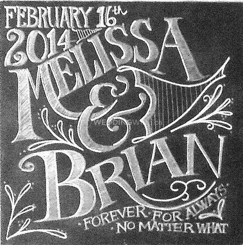 Melissa Frances - Chalk art
