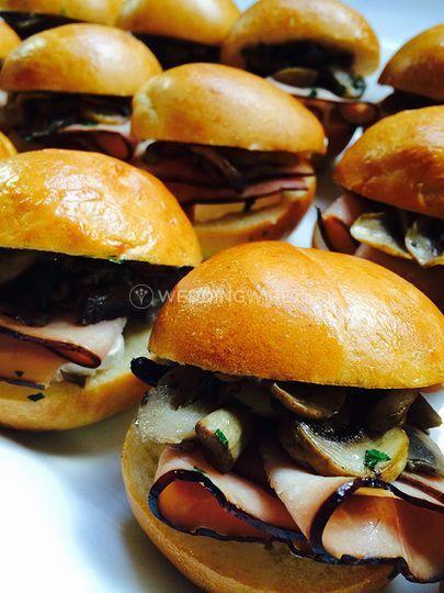 Mini Brioche Burgers