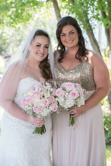 Bride and MOH
