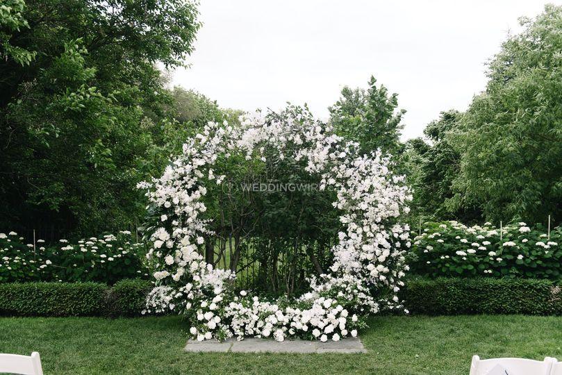 Ceremony Decor Flowers