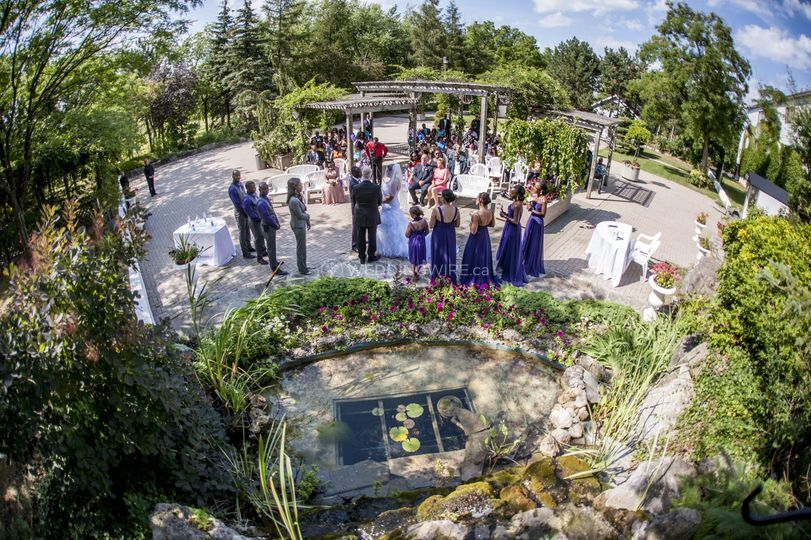 Outdoor Ceremony-Waterfalls