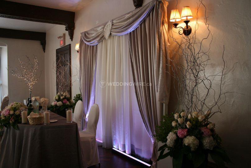 Thornhill, Ontario wedding reception