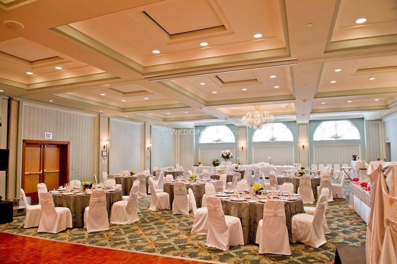 Waterside inn wedding