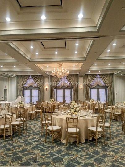 Windows ballroom wedding