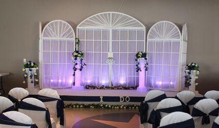 Glitz N' Glam Wedding Decor Rentals 3