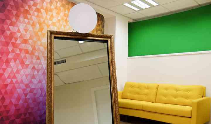 Magic Mirror Selfie Station