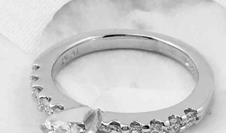 Custom Omori Engagement Ring