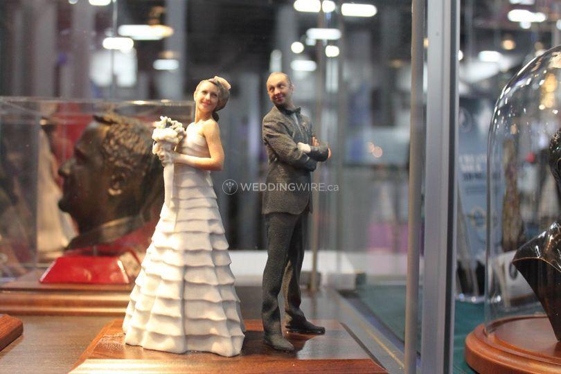 Bride 3D Scanned & 3D Printed