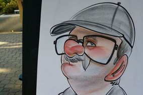 Live Event Caricatures by Dani