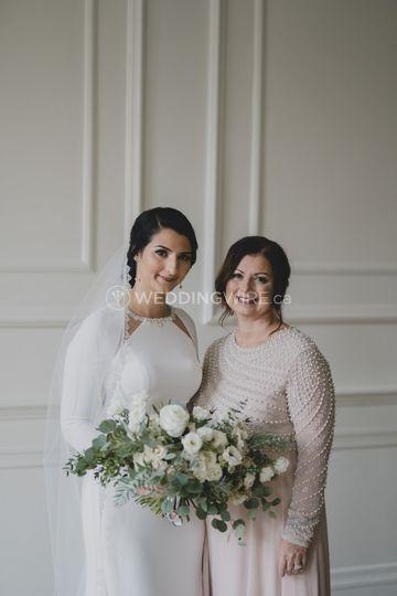 Mother, daughter Makeup