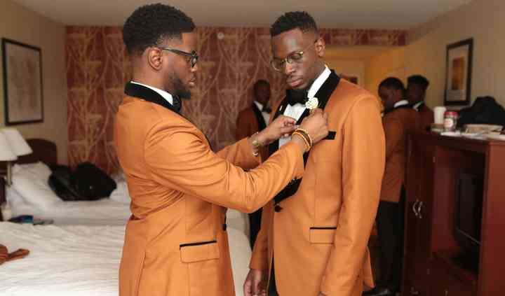 Two groomsmen