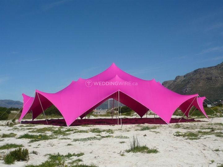 Stretch Tents, Different Colou