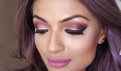 GlitzSun Makeup 1