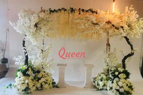 Queen Wedding Decor