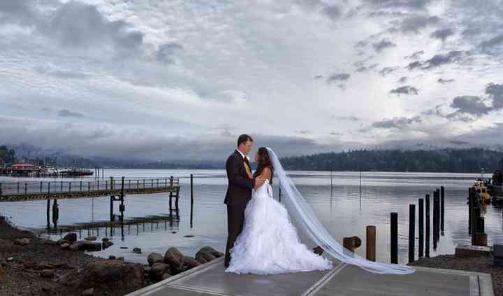 Wedding Photos on the Pier