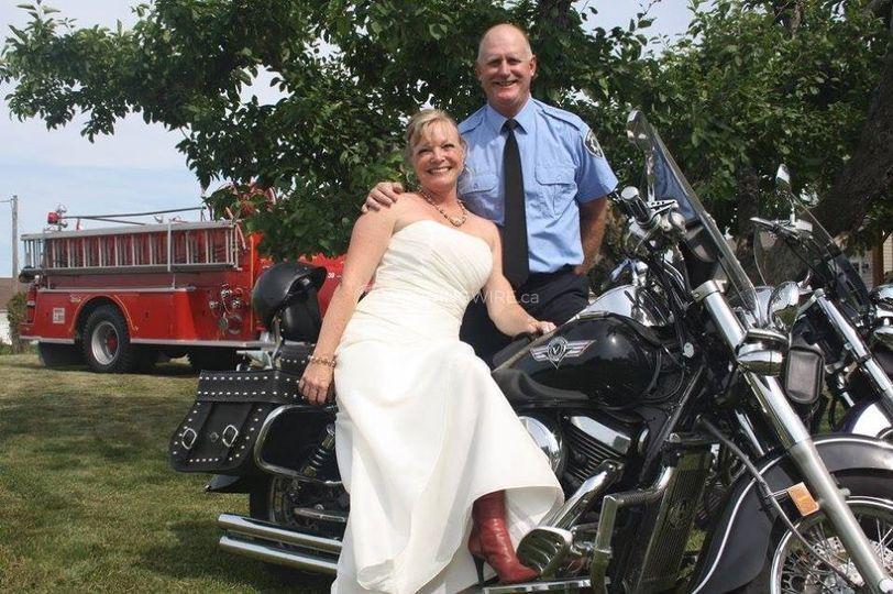 Biker Weddings