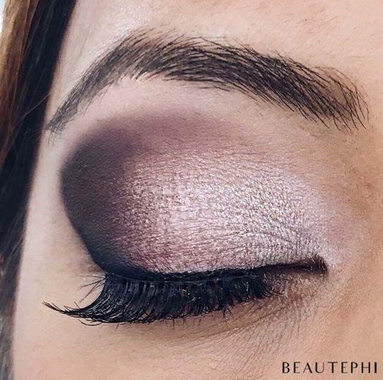 Purple Classic Eye