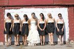 Bridesmaids and Bride Updo