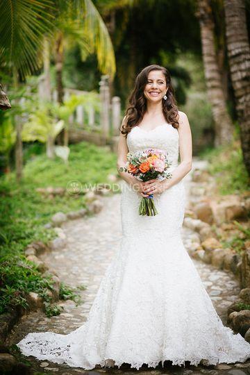 Sayulita bride Miss C