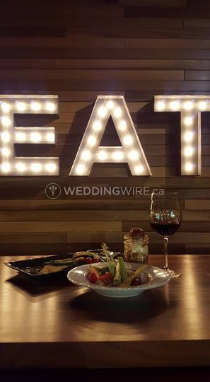 Burnaby, BC wedding reception