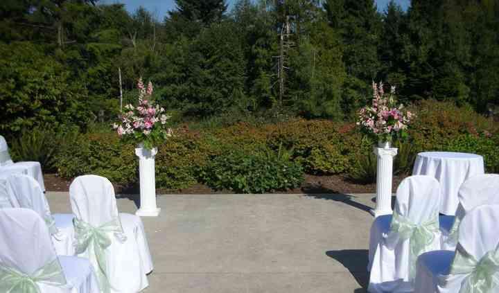 Burnaby, BC wedding ceremony