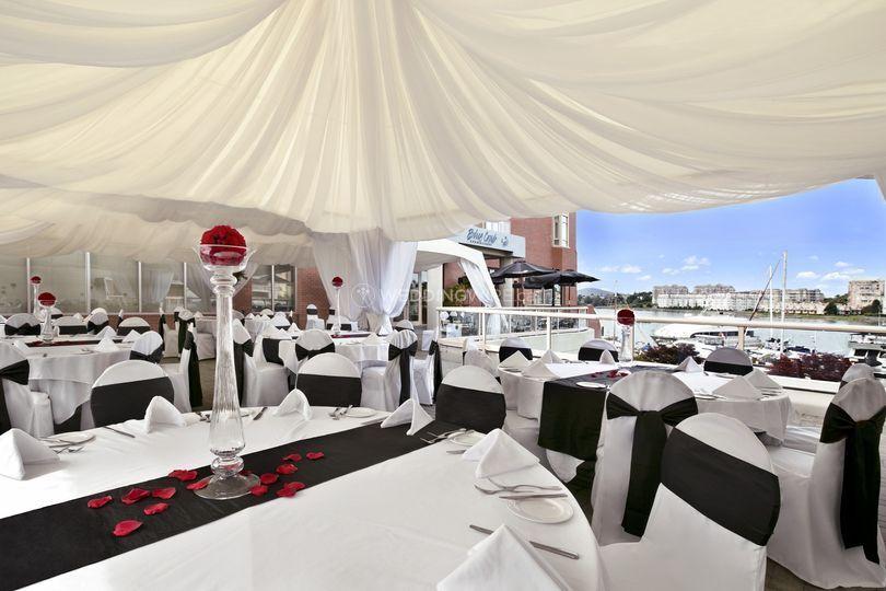 Waterfront Wedding Reception 2