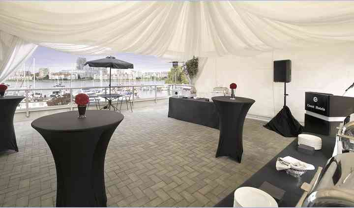 Waterfront Patio Reception