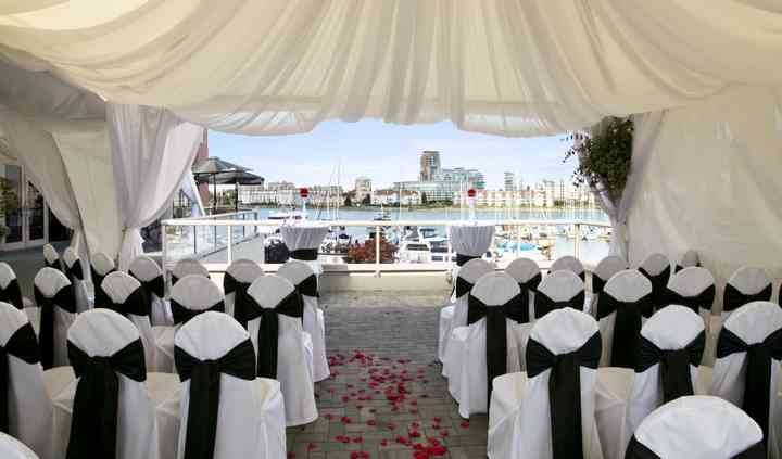 Waterfront Wedding Ceremony 1